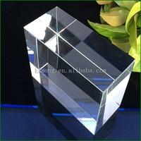 K9 Blank Crystal Block for 3D Laser Engraving