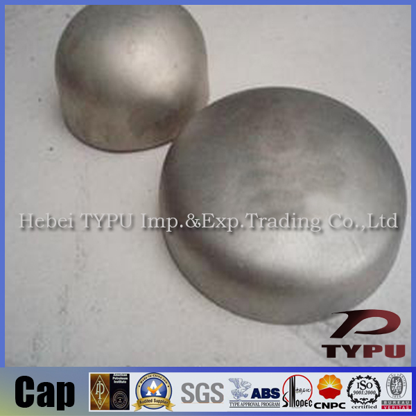 Stainless steel tube end caps inch pipe