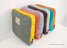 Customized Foldable Poly Shoulder Travel Bag