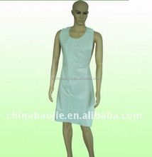 Disposable hospital apron,LDPE plastic apron in home and garden,disposable surgical apron in health & medical