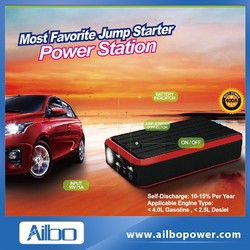 Car emergency tool kit with power jump starter function