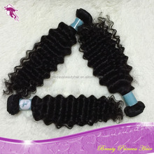 7A Cheap Unprocessed Body Wave and Deep Wave 100% european double drawn remy hair extensions