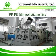 plastic film recycling pelletizing machine plastic raw material abs pellets