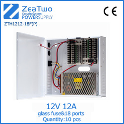 Switching model power supply 12v 12a power supply with battery backup dc 12v power supply products