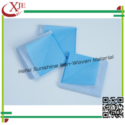 Eco-friendly Beautiful Disposable Nonwoven Draw Sheet Cover/Drape Sheet/Bed Sheet/Underpad