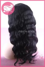 Alibaba china hot sell 20inch body wave full lace wig in stock