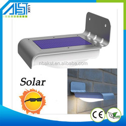 16LED Solar Power PIR Motion Sensor Wall Light Outdoor Waterproof Garden Light