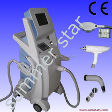 New Advanced!! elight rf nd yag laser 3 in 1 machine (CE/ISO) multifunction elight+rf+nd:yag laser