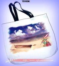 Dye sublimation Canvas shopping Bag