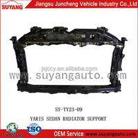 JAPANESE CAR TOYOTA YARIS SEDAN RADIATOR SUPPORT FOR SALE