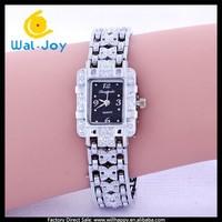 newest fashion luxury diamonds smart hot sale alloy ladies quartz watch(WJ-3082)