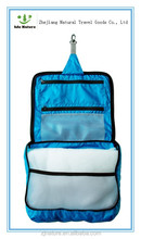 Popular waterproof hanging travel cosmetic bag
