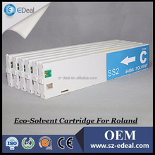 Made in China Wholesale 440ml Compatible Ink Cartridge for Roland RS-540 with One Time Used Chip