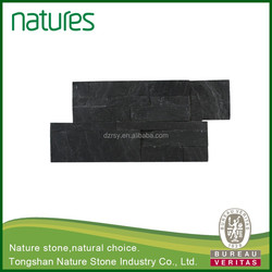 Hot different size slate wall covering for outside decoration
