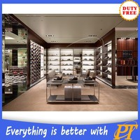 New style interior decoration for shoes shop
