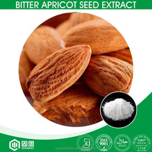 HALAL,KOSHER,ISO Factory Supply 98% Bitter Apricot Seed Extract Amygdalin