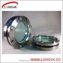 wenzhou high quality sanitary stainless steel flange sight glass