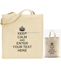 Alibaba China Online Hot Sell Fashion Recycle Organic Cotton Tote Bags Wholesale