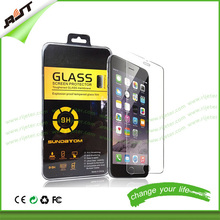 2015 For Mobile Phone accessories iPhone 6 screen protector tempered glass / 0.26mm 2.5D 9H tempered glass screen