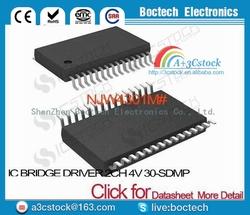 NJW4301M# IC BRIDGE DRIVER 2CH 4V 30-SDMP NJW4301M 4301 NJW4301 4301M W4301 JW4301