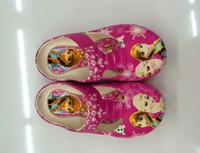 Summer Girl Shoes Frozen Shoes Guangzhou Shoes Factory