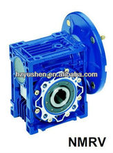 worm gear speed reducer NMRV series with square output flange