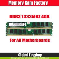 Refurbished non ecc best price ddr3 ram 4gb memory