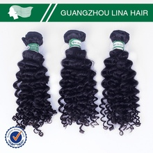 Fast delivery deep discount virgin brazilian jerry curl hair weave