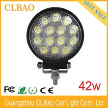 4.6 Inch LED Off-road Light,42W LED Work Light,12/24V Driving On Truck,Jeep, Atv,4WD,Boat,Mining LED driving light