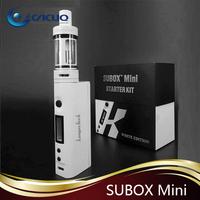 in Stock !!!! Crazy Hot Genuine High Quality Kanger 4.5ml 50w Black/white Colors Subox Mini Starter Kit VS Kanger Subtank mini