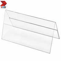 acrylic desk card holder or desk stand or desk display