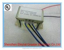 I/P 110V-220V EI power transformer