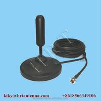 470~860Mhz 5dBi Broadband Antenna Magnetic mount Car dvb-t Mobile antenna TQC-0408DS N