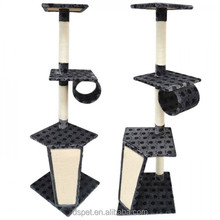 Dspet Wholesale Paw Cat Tree Cat Condo House Play bed Furniture Scratching Sisal Post Pet Modern House Design Play Toy house Paw