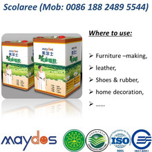 China Top 5 - Maydos Odorless Strong Bonding Chloroprene Rubber Contact Adhesive for Footwear