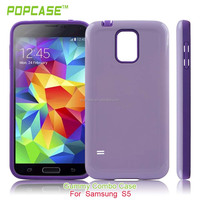 slim fit hard rubberized coating cell phone case cover for samusng s5