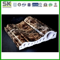 Factory Price composite artificial marble decoration hollow stones