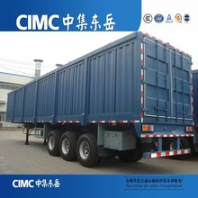 Tri-Axles 40 Ton Payload Van Cargo Trailer In Truck Semi Trailer