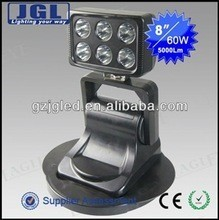 2015 Good quality top sell remote magnetic led work light,driving light