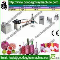 NET Application and PE Plastic Processed Single extruder foam net making machine