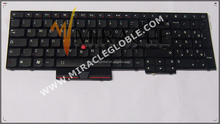 Brand new hot sale UK keyboard for Lenovo E530 E530C E525 UK keyboard Black