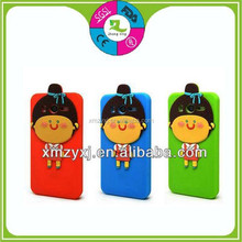 new trendy fashion 3d silicone cell phone case
