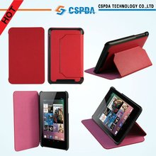 """For Google Asus Nexus 7"""" Tablet factory price PU leather case cover"""