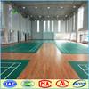 Customized Lychee PVC flooring protable badminton court flooring