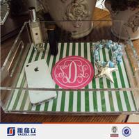 Acrylic Clear Serving Tray,Custom Design Acrylic Trays Food/Clear Square High Grade Acrylic Food Tray