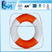 Types of CE Approved Orange Inflatable Life Buoy For Life Raft