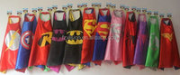 Superhero's Chirdren capes,promotional capes,fashion design superhero's kid cape