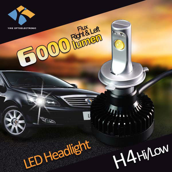 Car accessories 6000lumen h4 automotive led chevrolet cruze