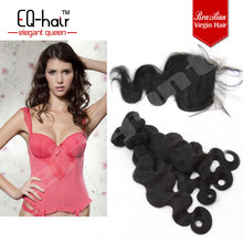 Natural silk base top Brazilian Hair Closure pieces at lower price!