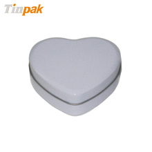 heart shaped tin box for chocolate candy